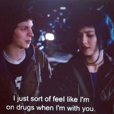 drugs (Scott Pilgrim vs The World) Tumblr Quotes, Film Quotes, Sad Movies, Movie Tv, Movie Scene, Citations Film, Vs The World, Grunge, Indie