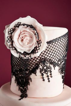 Top Tips for Working With Edible Lace for Cakes