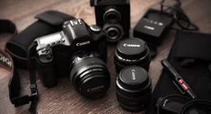 Best lenses for Canon EOS - First of all, the Canon is currently Best Canon Dslr Camera, Canon Camera Reviews, Nikon, Photography Basics, Photography Equipment, Canon Eos, Bordeaux, Cannon Camera, Camera Movements