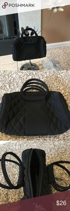 Adorable Vera Bradley black clutch! You will get as much use as you will compliments on this great little purse! Vera Bradley Bags Clutches & Wristlets
