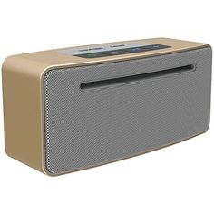 TW-BEAT-IT-CHAM Beat IT Hi-Fi Bluetooth Speaker. Bluetooth. 5 hour-6 hour charge time. Special design & Production process for hi-fi level sound. Zinc alloy Shell. Champagne.