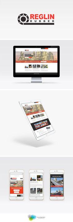 Reglin Rubber Responsive Website Design - Digital Brand Development - Online Marketing - RLD Strategic