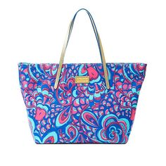 Lilly Pulitzer Resort Tote - Reel Me In - Now $59