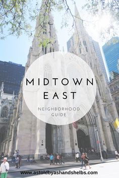 Midtown East Neighborhood Guide New York City New York Travel Guide, New York City Travel, New York Vacation, Voyage New York, Empire State Of Mind, I Love Nyc, Nyc Restaurants, Times Square Restaurants, Upstate New York