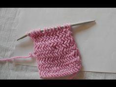 Jednoduchý rybý vzor na pletenie - YouTube
