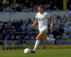 Former Spurs and England midfielder, Glenn Hoddle..One of the finest English footballers this country has produced