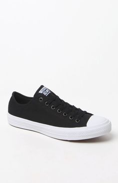 Chuck Taylor All Star II Ox Black & White Shoes