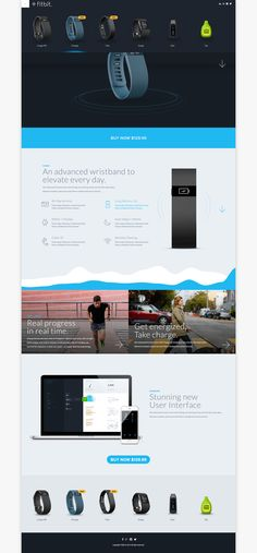 Fitbit Product Showcase - Redesign