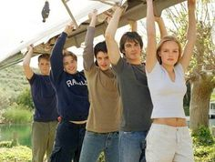 I liked whole cast much better than Dawson (well Joshua...) - I can't believe it only got one season / Young Americans