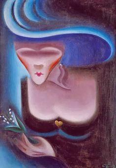 Weimar: Josef Čapek - The Robot Inventor Writers And Poets, European Paintings, Modern Artwork, Artist Art, Impressionism, Female Art, New Art, In This World, Illustration