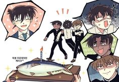 Heiji and subaru look very like do that😂😂😂 Conan Comics, Detektif Conan, Magic Kaito, Detective Conan Shinichi, Kaito Kuroba, Detective Conan Wallpapers, Kaito Kid, Dc Anime, Gekkan Shoujo Nozaki Kun