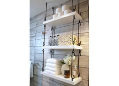 Just one of the great ideas I saw in the HGTV Austin 2015 Smart home tour! Just one of the great ideas I saw in the HGTV Austin 2015 Smart home tour! Just one of the great ideas I saw in the HGTV Austin 2015 Smart home tour! Rustic Bathroom Designs, Nautical Bathrooms, Rustic Bathroom Decor, Rustic Bathrooms, Rustic Decor, Small Bathrooms, Modern Bathroom, Minimalist Bathroom, Master Bathrooms
