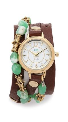 La Mer Collections Jaipur Wrap Watch