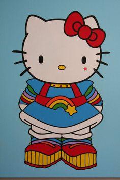 Hello Kitty as Rainbow Brite by ~ignaciosalinas on deviantART