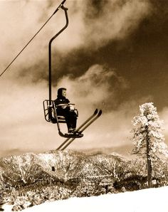 Snow Valley's Mile Long Chair Lift