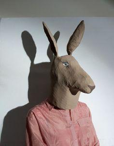 Animal's masks - www.elsadray-farges.com
