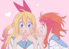 Find images and videos about anime, kawaii and friendship on We Heart It - the app to get lost in what you love. Nisekoi, Chica Anime Manga, Anime Art, Naruto E Boruto, Otaku, Naruto Girls, Anime Girls, Fanart, Anime Demon