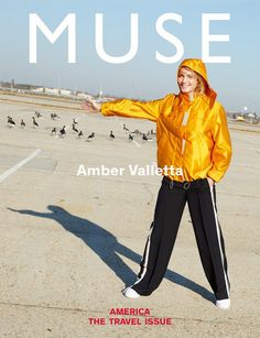 Amber Valletta by Maciek Kobielski for Muse Travel Issue 2017 Cover
