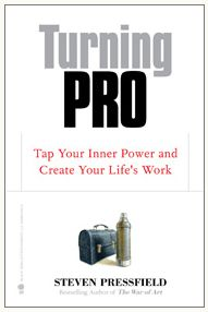 Turning pro is a decision we make every day. - Joanna Penn