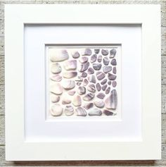 Wampum | Seashell Art | Beach Mosaic | Sea Shell Art | Beach Decor | Housewarming Gift | Quahog Shells | Surf Tumbled | Ocean Lover Gift by RedIslandSeaGlass on Etsy Sea Glass Beach, Sea Glass Art, Seashell Art, Seashell Crafts, Beautiful Gifts For Her, Do It Yourself Home, Beach Art, Gift For Lover, A Table