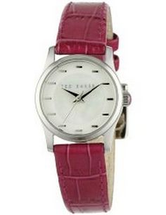 Ted Baker Female Right On Time Watch  TE2063 Red Analog             Sale price. $54.95