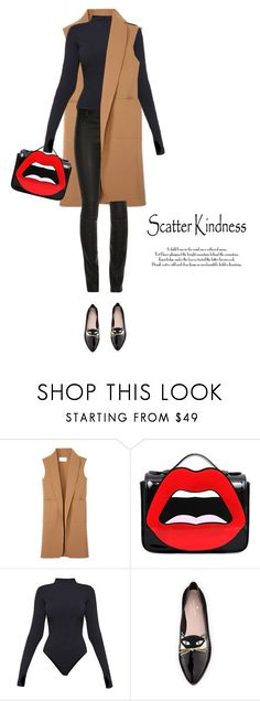 """""""Speak with kindness"""" by sharmarie ❤ liked on Polyvore featuring Alexander Wang, Yazbukey, Ivy Park, Kate Spade and ElleSD"""