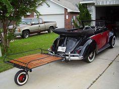 Allstate single wheel trailer