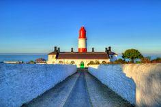 Marsden Grotto Lighthouse HDR