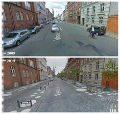 Public Space Transformations Captured by Google Street View. By Urb-i.