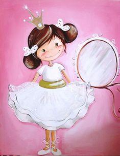 les meli melo de mamietitine - Page 30 Artists For Kids, Art For Kids, Cute Little Girls, Cute Kids, Beautiful Art Pictures, Beautiful Things, Cute Girls Bedrooms, Cute Clipart, Gifs