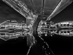 Adelaide Reflections in Mono by IanLucas on 500px