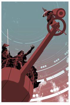 "Frank Stockton's ""Luke's Destiny""   Alamo Drafthouse Star Wars poster series"