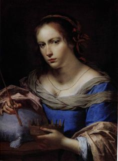Giovanni Martinelli, 1600-1659, Allegorical portrait of a woman
