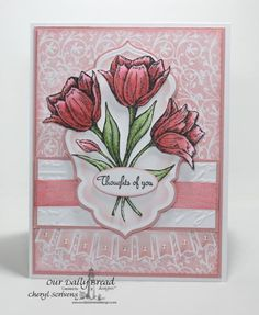 Thoughts of you... by CherylQuilts - Cards and Paper Crafts at Splitcoaststampers