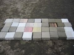 rammed earth pavers