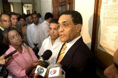 César Sánchez a su llegado a la procuraduria de la Republica