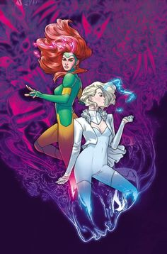 Get Your First Look Inside Giant-Size X-Men: Jean Grey And Emma Frost The Effective Pictures We Offer You About Marvel Marvel Comics, Ms Marvel, Marvel Art, Marvel Heroes, Captain Marvel, Marvel Avengers, Comic Book Artists, Comic Artist, Comic Books Art