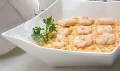 Arroz Risotto, Caribbean Recipes, Ravioli, Crepes, Paella, Deli, Chowder, Italian Recipes, Macaroni And Cheese