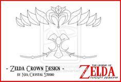 zelda crown