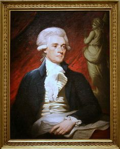 Despite the fact that it was not regarded as a good likeness by Jefferson's peers, Mather Brown's 1786 portrait still has the claim to fame as the first known portrait of Jefferson. It was done in London while Jefferson was touring English gardens with John Adams. It happens to be one of my favourite portraits of Jefferson.~