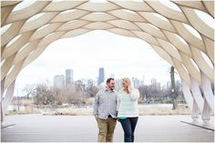 Chicago Engagement Photos | Lincoln Park Zoo South Pond | Nature Boardwalk | Chicago Wedding Photographer | Jill Tiongco Photography
