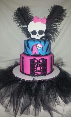 Monster High Cake -