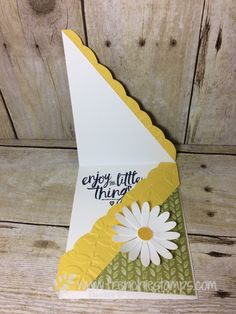 Daisy Punch, Delightful Daisy Designer Paper, Best Batch Punch, Frenchiestamps, Stampin'Up!