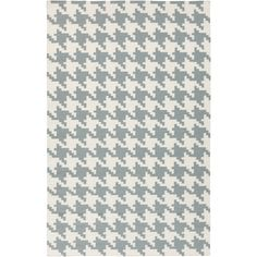 Our flat woven wool houndstooth rug is gorgeous. We love this fashion forward but classic pattern! This handmade woven wool rug is constructed from wool. The beautiful pattern is a sup