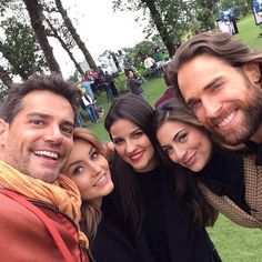 Cristian de la Fuente, Angelique Boyer, Maite Perroni, Ana Brenda Contreras, y Sebastian Rulli!