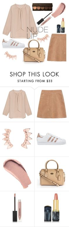 """""""untitled 7"""" by lynksmichelle ❤ liked on Polyvore featuring beauty, Gérard Darel, See by Chloé, adidas Originals, Burberry, Oribe, StreetStyle, women, nudelip and contestentry"""