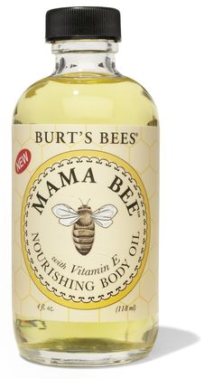 Burt's Bees Mama Bee Nourishing Oil. $7.99 with promo code at diapers.com! Heard it's great for preventing stretch marks!