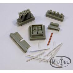 Poste eléctrico & transformador - Macone Models