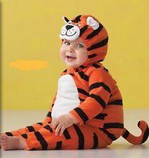 Carter's 2pc Fleece Tiger Costume Dress up Carnival Halloween padded NWT