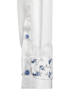 white shirt cuff More
